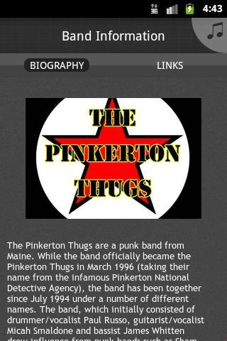 The Pinkerton Thugs- screenshot