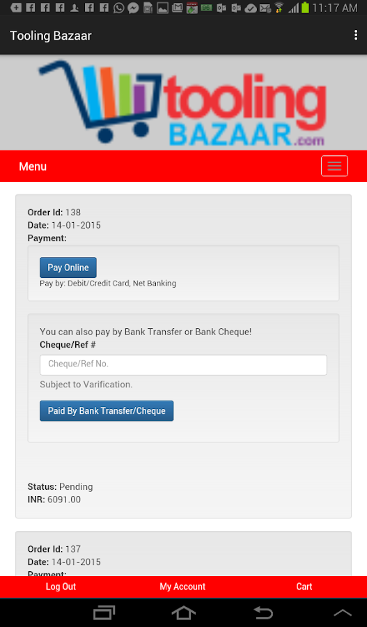 Tooling Bazaar- screenshot