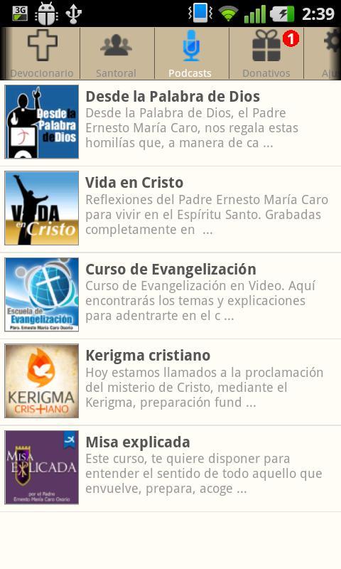 Evangelización Activa - screenshot