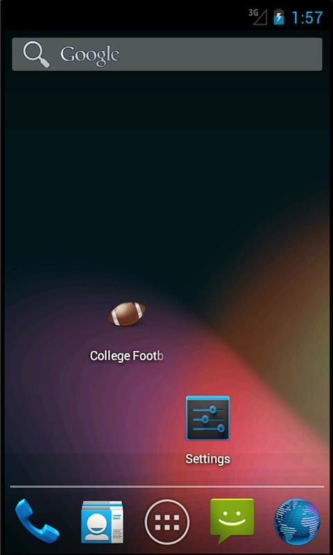 College Football Scores (NCAA) - screenshot