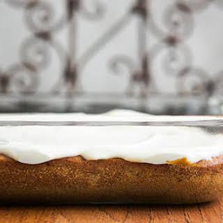Banana Sheet Cake.