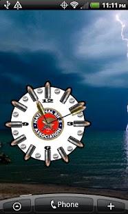 NRA Logo Clock ★ Widget ★- screenshot thumbnail