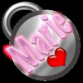 Marie Name Tag