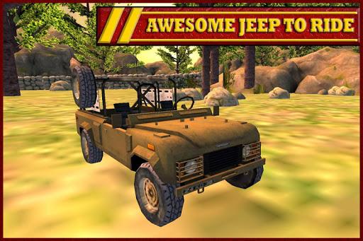 Jeep Parking Drive Simulation