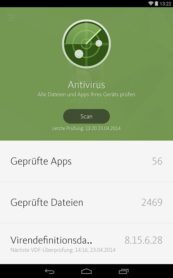 Avira Antivirus Security – Screenshot