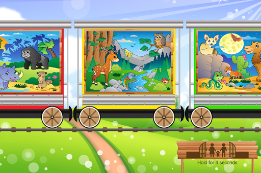 Puzzles Game For Kids: Animals
