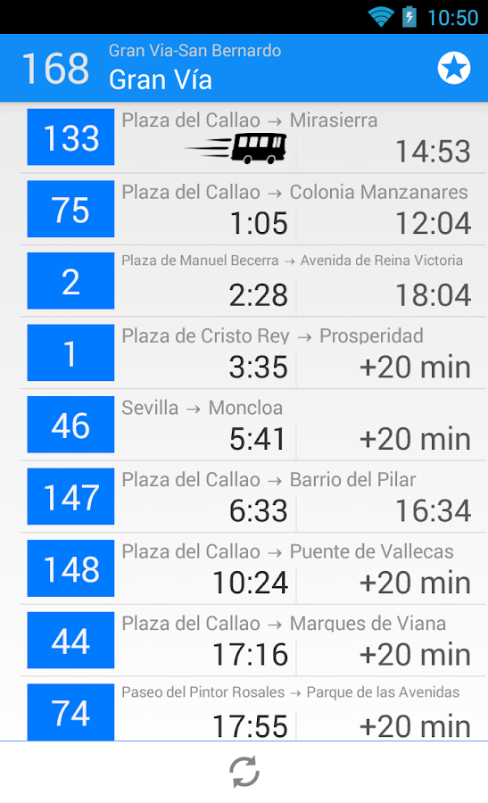 goBus Madrid EMT- screenshot