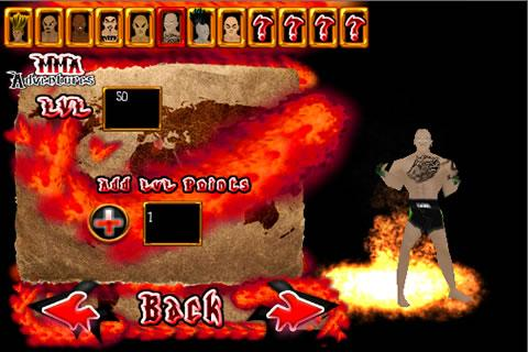 MMA Zombie DEMO - screenshot