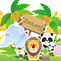 Zooland animals learning icon