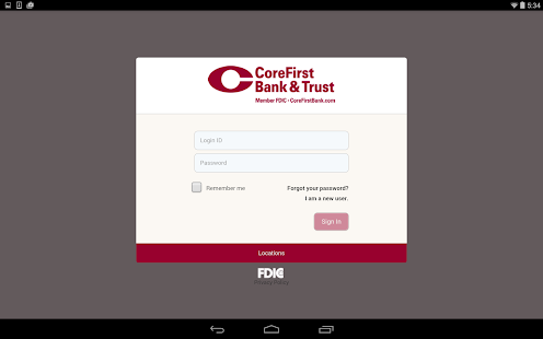 CoreFirst Bank & Trust Mobile- screenshot thumbnail
