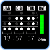 Binary Digital Clock