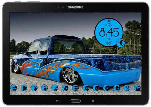 【免費個人化App】SC 164 Slipped Blue-APP點子