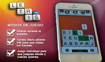 Screenshot of Letris TVE