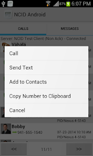 NCID Android- screenshot thumbnail