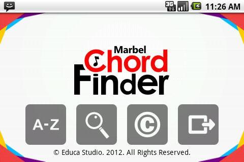 Marbel Chord Finder