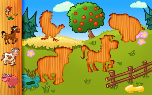 Gran rompecabezas de animales: miniatura de captura de pantalla