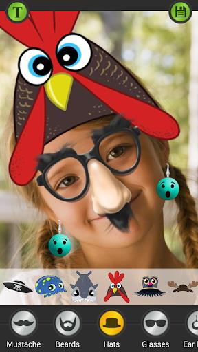 Photo Face Decorator