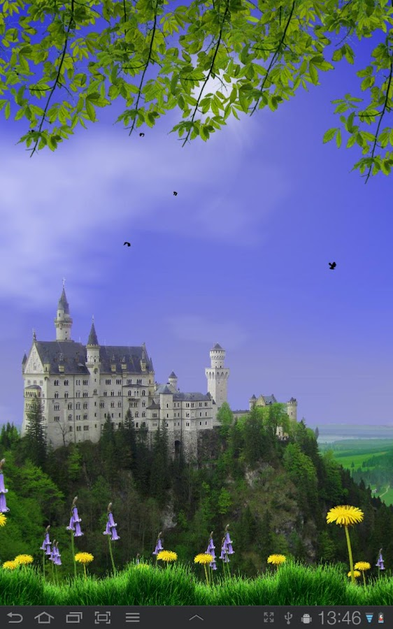 Castle View Live Wallpaper- screenshot