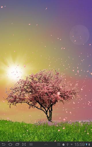Spring Trees Live Wallpaper v1.42