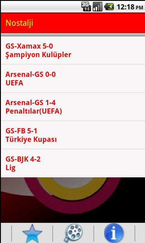 Galatasaray Marşları - screenshot