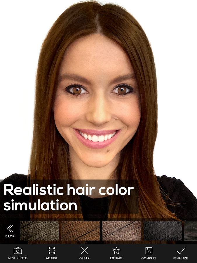 Hair Color Studio- screenshot