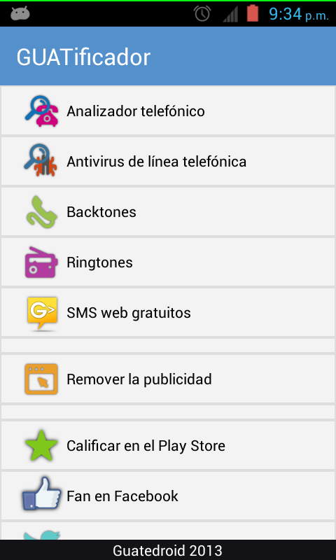 GUATificador - screenshot