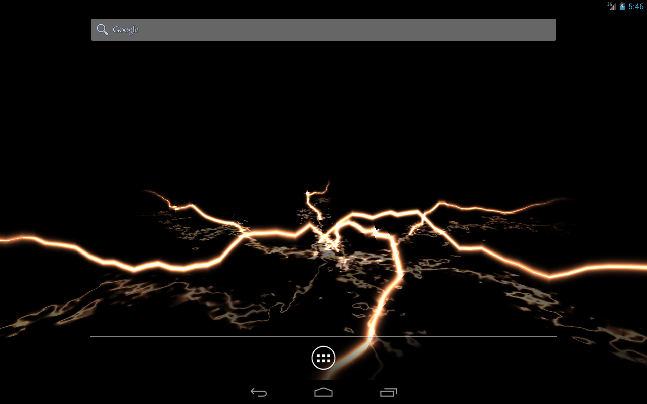 lightning star live wallpaper android apps on google play