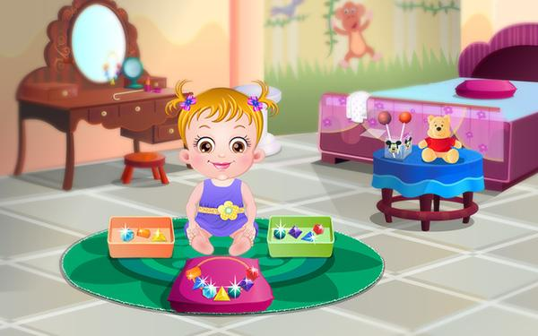 Baby Hazel Learns Shapes- screenshot