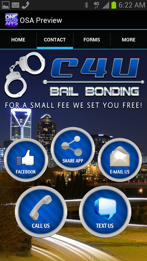 C 4 U Bail- screenshot