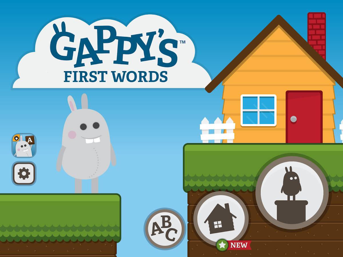 Gappy's First Words - screenshot