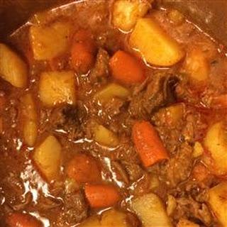 Savory Vegetable Beef Stew.