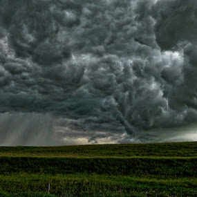 Gloomy Day by Robert Remacle - Landscapes Cloud Formations (  )