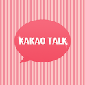 Pink Stripe Kakaotalk Theme icon