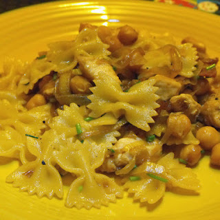 Farfalle with Chicken and Caramelized Vegetables