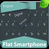 GO Keyboard Flat Phone
