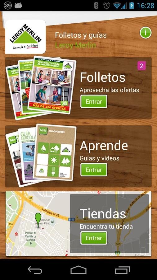 Leroy merlin espa a android apps on google play for Folleto leroy merlin