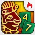 Maya Pyramid logo