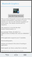 Screenshot of Bluetooth Terminal/Graphics