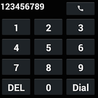 Screenshot of Speed Dial for Android Wear