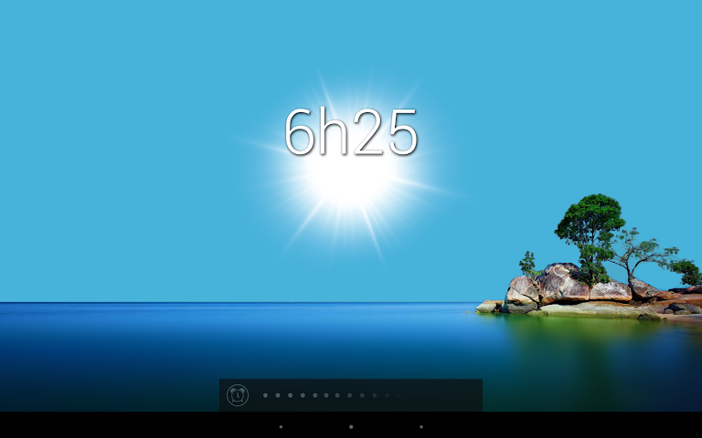 android Glimmer (luminous alarm clock) Screenshot 4