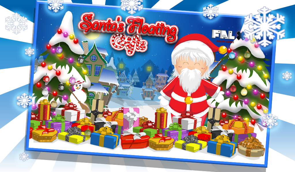 Santa Floating Gifts- screenshot