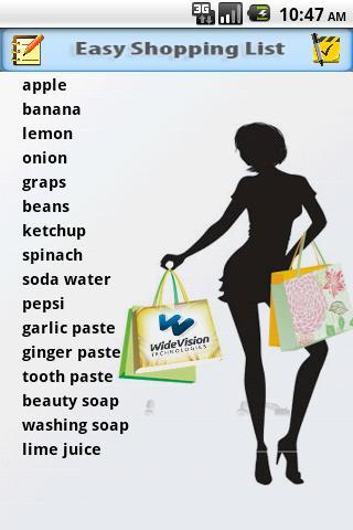 【免費生活App】Easy Shopping List-APP點子