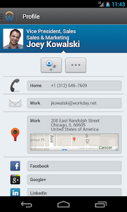 Workday - screenshot thumbnail
