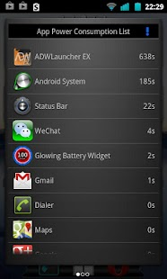 Glowing Battery Saver- screenshot thumbnail