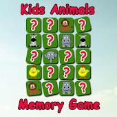 Kids Animal Memory Game