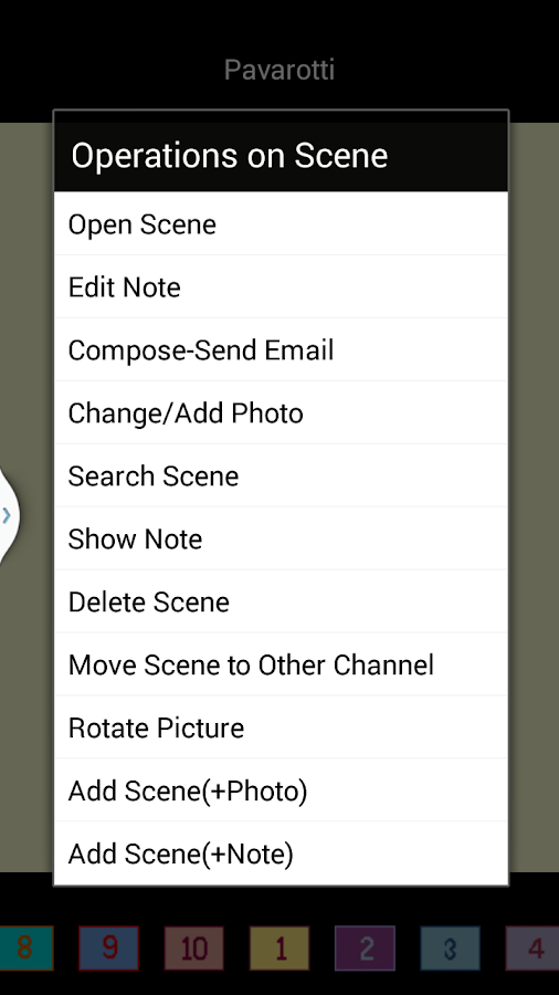 Showkie Bookmarker- screenshot