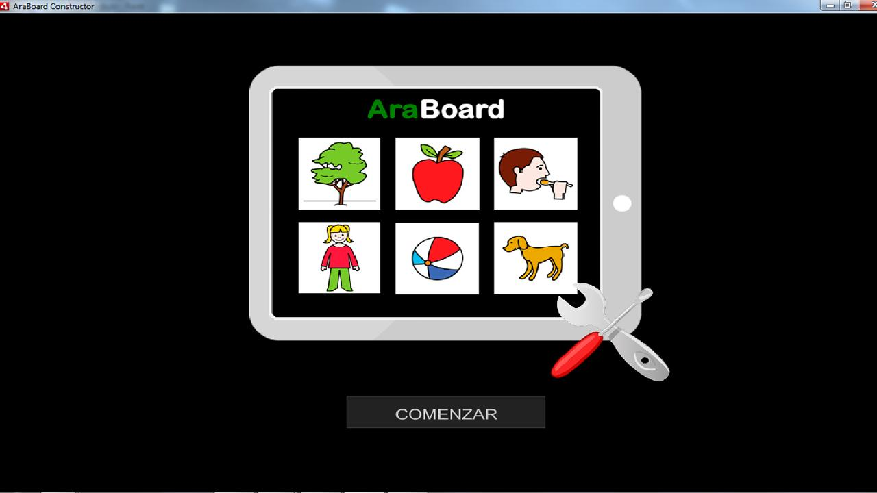 AraBoard Constructor - screenshot