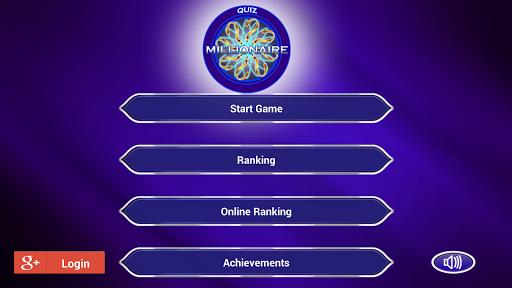 Millionaire Quiz English