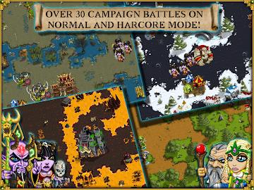Warlords RTS: Strategy Game Screenshot 8