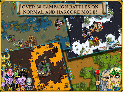 Warlords RTS: Strategy Game Screenshot 8